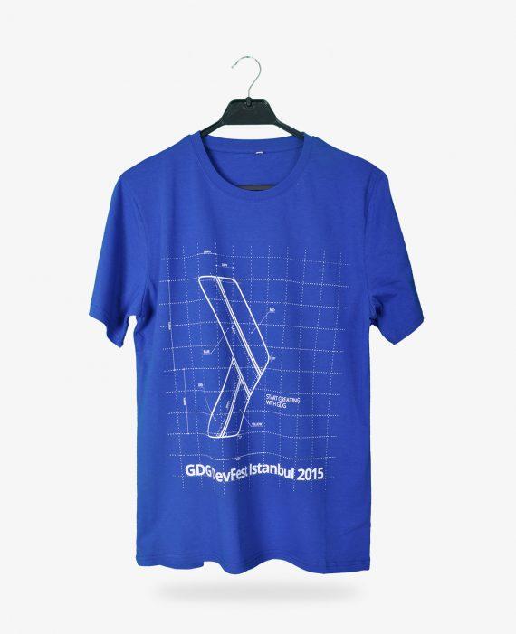 GDG Devfest Baskılı T-shirt